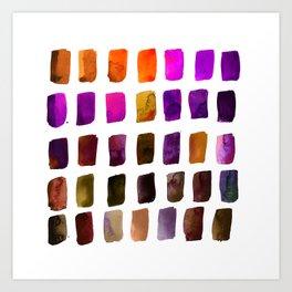 Brushstrokes 1zh by Kathy Morton Stanion Art Print