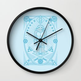 Leo Pizza Jam Wall Clock