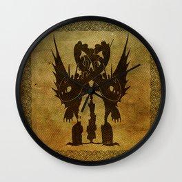 One Dragon Wall Clock