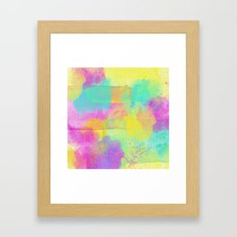 Rainbowcolors Watercolor Framed Art Print