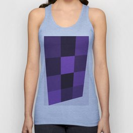 Abstract Ultra Violet Palette Unisex Tank Top