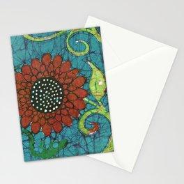 Kate's Flower Batik Stationery Cards