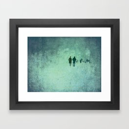 People  Framed Art Print
