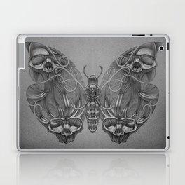 Butterfly skulls 3 Laptop & iPad Skin