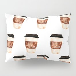 Coffee and Hustle on the Go Pillow Sham