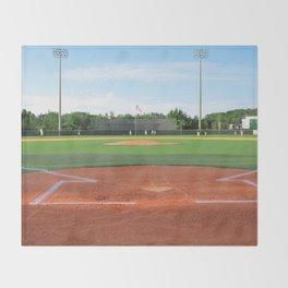 Play Ball! - Home Plate Throw Blanket