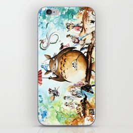 """""""The lovers crossover"""" iPhone Skin"""