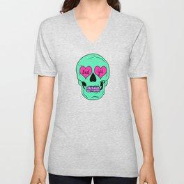 Bad Gal Skull Unisex V-Neck