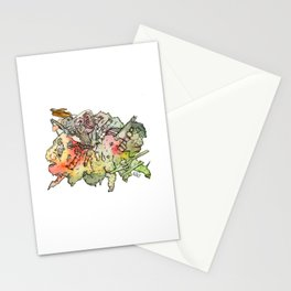 Cosmic Migraine Stationery Cards