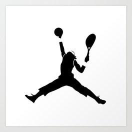 #TheJumpmanSeries, Rafa Nadal Art Print