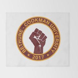 BETHUNE-COOKMAN CLASS OF 2017 Throw Blanket