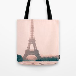 Eiffel tower in the early morning Tote Bag