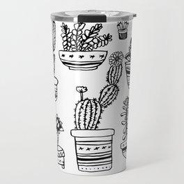Succulents & Cactus Travel Mug