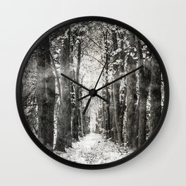 Infrared and symmetry Wall Clock