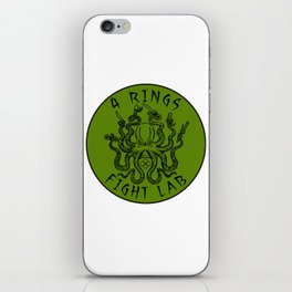 fight lab green iPhone Skin
