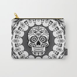 Funny Mandala Skull Carry-All Pouch