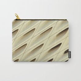 The Broad In the Afternoon Vintage Retro Pattern Photography I Carry-All Pouch