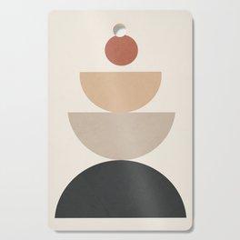 Geometric Modern Art 31 Cutting Board