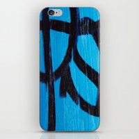 subway iPhone & iPod Skins featuring Subway by Lotus Effects