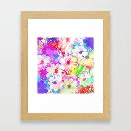 Flowers_108 Framed Art Print
