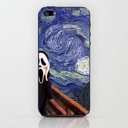Scream Scary movie iPhone Skin