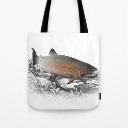 Migrating Steelhead Trout Tote Bag