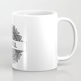 Blissful Mandala Graphic Design Coffee Mug