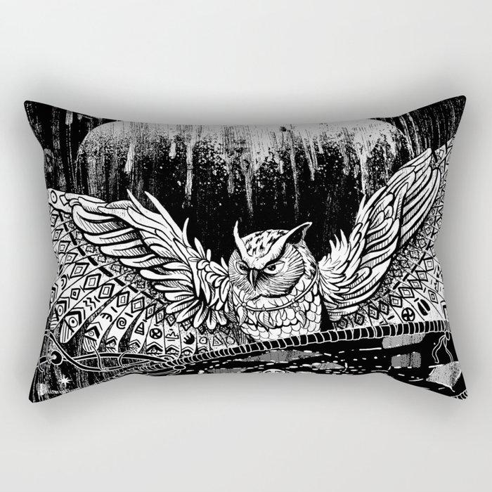 Spirit Owl Rectangular Pillow