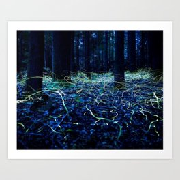 Glow in the Dark Art Print