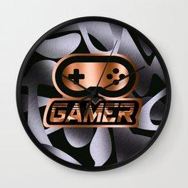 Gamer Copper Wall Clock