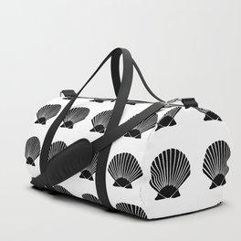 Black Seashell Duffle Bag