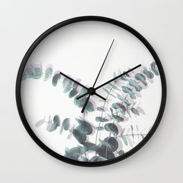 Eucalyptus Shadows II Wall Clock