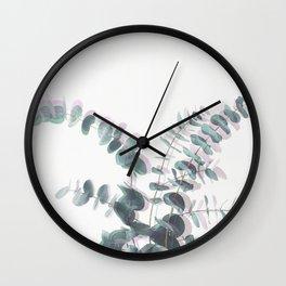 Eucalyptus Shadows II Wall Clock