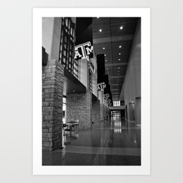 A&M MSC Art Print