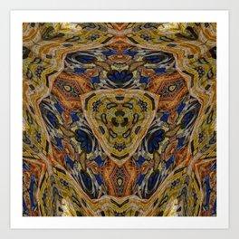 Hippy Art Print