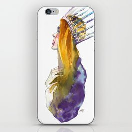 Fashion - Ice Queen iPhone Skin