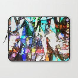 Light Streaming Through Stained Glass Laptop Sleeve