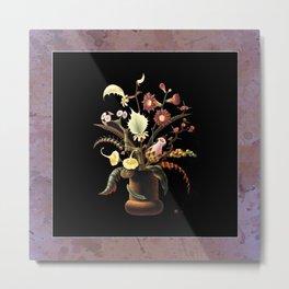 Franz Sedlacek Eerie Flowers Metal Print