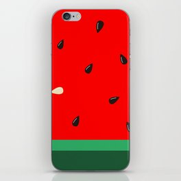 Watermelon | Watermelon Seed | Watermelon Home Decor | pulps of wood iPhone Skin