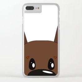Dog 5 Clear iPhone Case