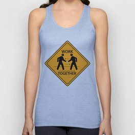 FUTURE FORMS OF EARTH (an adventure in neo-organics) Unisex Tank Top