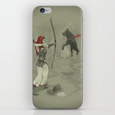 Little Red Robin Hood iPhone & iPod Skin