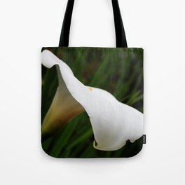 White lilie 2 Tote Bag