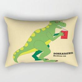 Dorkasaurus Rectangular Pillow