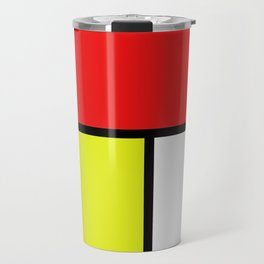 Mondrian #21 Travel Mug