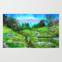 Meadow of Life Rug