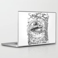 gore Laptop & iPad Skins featuring Monster's Garden! by Davide Vitiello