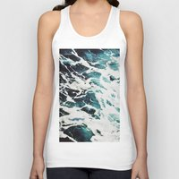 waves Tank Tops featuring Waves by Jenna Davis Designs