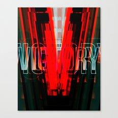VICTORY-V Canvas Print