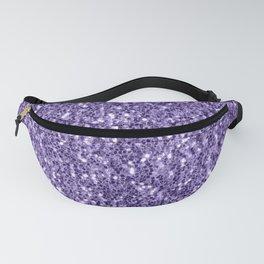 Ultra violet purple glitter sparkles Fanny Pack